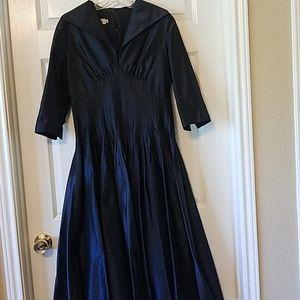 Rickie Freeman Teri Jon navy dress